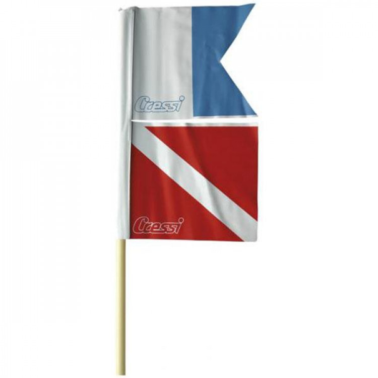 Bandeira Dupla para Boia