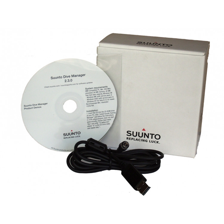 Interface Suunto USB p/ D4i / D6i / D9Tx